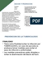 Prevencion y Promocion de La Tb