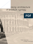 Rethinking Typology of Stadium Typology- Thesis Literature Review
