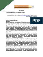 Correspondencia de Euclides Da Cunha