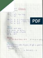 Chapitre 3 - Algebre Lineaire
