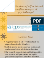 Negative Views of Self or Internal Conflicts as Targets of Psychotherapy
