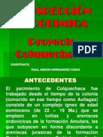 proyecto colquechaca
