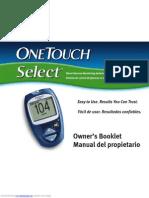 OneTouch Glucometru Manual