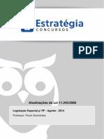 (Legislação Especial) Atualizações da Lei 11.343-06.pdf
