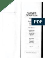 Diccionario de Politicas Publicas Referencial