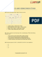 Electronics and Semiconductor