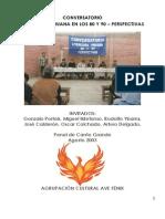 Literatura Peruana en Los 80 y 90