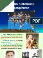Igiena Sistemului Respirator..