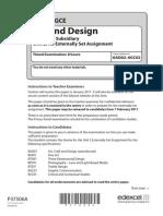 37506A GCE Art Design Unit 2 Feb 2011 Web