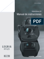 LEGRIA HF G25 Instruction Manual ES