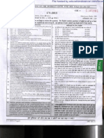SSC CGL Re Exam 27-04-2014 Morning Session Question Paper 000GK1