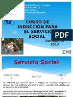 Presentacion Curso Induccion Servicio Social Enero-julio 2014
