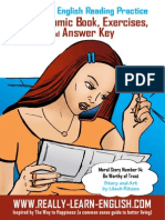 Illustrated English Reading Practice Comic Book for English Learners Free Print