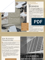 KM for Business brochure