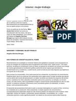 Kmarx.wordpress.com Marxismo y Feminismomujer Trabajo