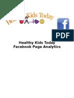 Facebook Insights Graphs