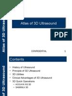 Atlas of 3D Ultrasound