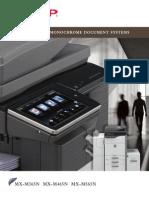 MX M365 465 565N Brochure PDF