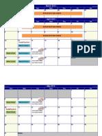 HealthTrip 2015 Calendar