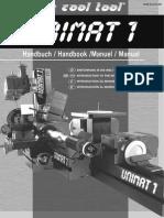 Manual Torno Unimat 01 01-2007