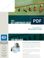 Corporate Responsibility Report 2013 Published September 2014