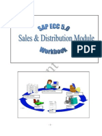 SAP Tutorial Workbook