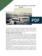 La Historia No Contada de Ayotzinapa y Las Normales Rurales