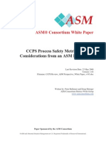 ASM Perspective White Paper on PSI Near-misses