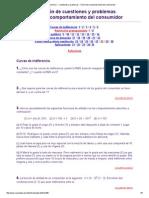 Microeconomía I - Cuestiones y Problemas - Teoría Del Comportamiento Del Consumidor