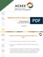 Modelo de CDE en Chile y Su Estructura Legal. Xavier Barriga