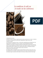 20 Formas de Reutilizar El Café