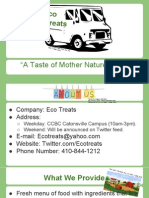 ecotreats presentation