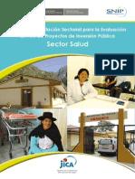 Pauta Eval Ex Post Sector Salud
