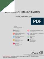Brookside Presentation