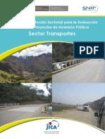 Pautas Eval Ex Post Sector Transportes
