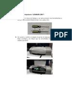 Entrega de Evidencias Mantenimiento de Impresoras de Inyección -Parte 2