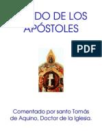 Jesucristo Descendio a Los Infiernos y Al Tercer Dia Resucito Art. 5 Del Credo Comentado Por Santo Tomas de Aquino.
