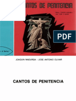 Cantos de Penitencia Joaquin Madurga