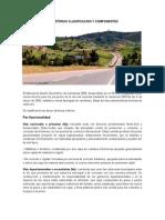Carreteras Clasificacion y Componentes