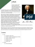 Johann Sebastian Bach - Wikipedia, The Free Encyclopedia