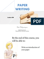 Lecture 3b-Writing Introduction