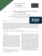 Online SEM investigation of microcrack characteristics of concretes at temperature.pdf