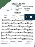 Marcel Mule - Scale e arpeggi per sassofono