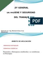 Ley General de Higiene y Seguridad ( Diapositivas)