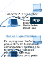 conexion de pc's por cable de serial