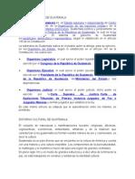 Entorno Politico de Guatemala