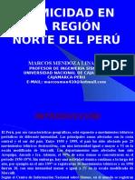 Sismicidad en La Región Norte Del Perú