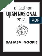 Soal Latihan UN SMA 2013 - Bahasa Inggris [Gudangmakalahmu.blogspot.com]