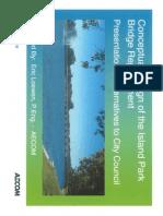 Island Park Bridge design concepts