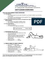 Lumbar Flexion Exercises